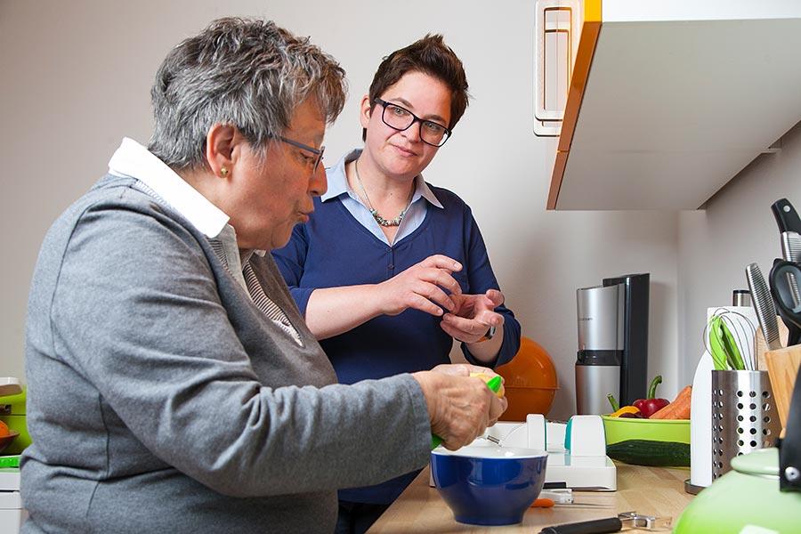 Ergotherapie, Senden, Münster, Margret Muth-Köhne, Erwachsene, Senioren, Demenz
